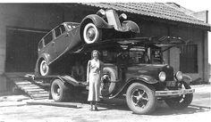 Packard Automobile transporter....