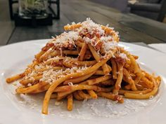 If you are making authentic #Italian Bucatini all'Amatriciana you only need six ingredients. Follow the link for my #recipe. #foodiefriday #dinner Pasta Amatriciana, Bucatini Pasta, Italian Dishes, Italian Recipes, Spaghetti Al Pomodoro, San Marzano Tomatoes, How To Peel Tomatoes, Great Recipes, Easy Meals