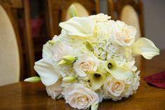Stunning all White bouquet