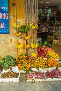 Fruit on Display, Hanoi, Vietnam | by Aaron Von Hagen on 500px
