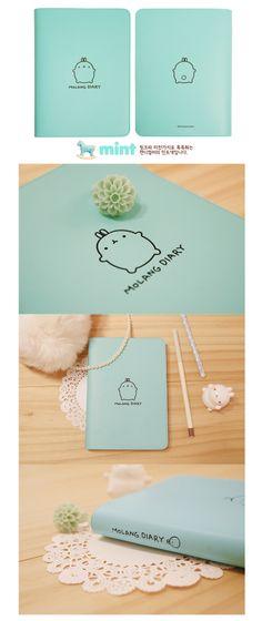 From Korea Any Year Style Molang Diary Ver 1 | eBay