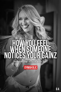 How you feel when some one notices your gainz #Gymaholic #DailyFitness