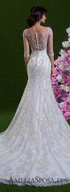 Amelia Sposa Wedding Dresses 2018 Brilliant Moments Bridal Collection features exquisite, feminine gowns with an elegant touch of luxury. Sofia Tolli Wedding Dress, Amelia Sposa Wedding Dress, Wedding Dresses 2018, Wedding Attire, Bridal Dresses, Gown Wedding, Wedding Gallery, Wedding Styles, Wedding Ideas