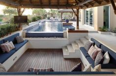 I have a total thing for sunken lounges. They were damn cool in the 1960s and they are still ridiculously sexy, in my opinion. Practical too. When I build my dream home it will definitely feature a...