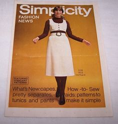 Feb 1970 SIMPLICITY FASHION NEWS-LATEST PATTERNS-P N HIRSCH & CO DEPT STORES | eBay