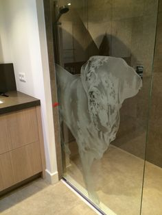 Shower with dog Lion Sculpture, Statue, Shower, Dogs, Art, Rain Shower Heads, Art Background, Pet Dogs, Kunst