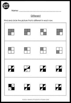 Download same and different worksheets suitable for kindergarten level, great as revision on matching and sorting. Freebies included!