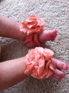 DIY Project – Baby Barefoot Sandals | 1plus1equals9