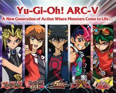 This is my one word definitions of all the series of Yu-Gi-Oh  YU-Gi-Oh: Epic  GX: Awesome  5D's: Amazing  Zexal: WHY????  Arc V: Sweet