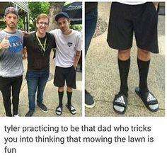 Hahahaha Tyler. XD