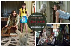 Nine Lives in theaters this Summer, Enter to win a $25 Gift Card to see it! #NineLives