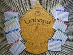 The Liahona reveal game. FHE
