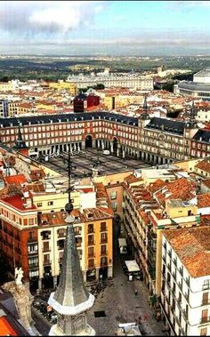 Plaza Mayor in Madrid, capital of Spain The Places Youll Go, Places To Visit, Travel Around The World, Around The Worlds, Spanish Heritage, Foto Madrid, Spain And Portugal, Spain Travel, Adventure Is Out There