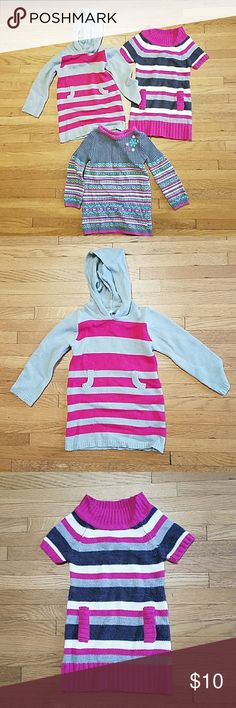 Size 2T Bundle of Girls Sweater Dresses #2SD001 Bundle of Girls Sweater Dresses. There are 3 dresses in this bundle and all are size 2T. Brands include Blue Heart and Skyr. Lot # 2SD001 Dresses Formal