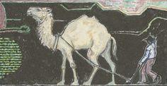 """Camel in Lava Field"", John Craxton,1973 / Christie's"
