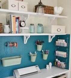 How to Turn a Bedroom Closet into a Craft Closet