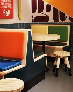 Sook fast food restaurant by Koncept Stockholm Stockholm Sweden