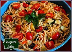 Sweet Tea and Cornbread: Spaghetti Salad!