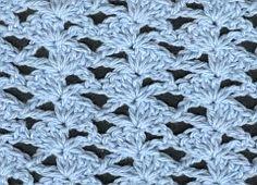 Punto 39 tejido a crochet