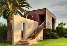 Casey Key Beach House by Sweet Sparkman Architects