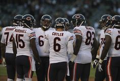 """The Chicago Bears are one of several """"fringe"""" teams eyeing the NFL playoffs. How will they do going through the 2013 season? Bears Football, Football Team, Chicago Bears Funny, Chicago Bulls, Dont Feed The Bears, Nfc North, Jay Cutler, Football Conference, Nfl Season"""