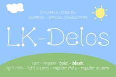 Delos Playful Kids Inspired Font by Elegrad Design Agency on @creativemarket