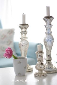 mercury candlesticks