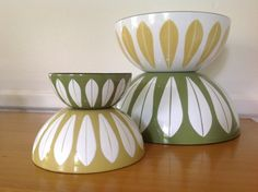CathrineHolm Set of Lotus Nesting Bowls in by TheWelcomeTable, $225.00