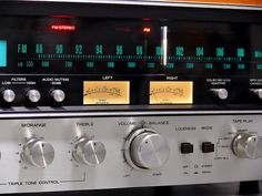 """Sansui - 7070 ,Vintage Audiophile Stereo Receiver"" !...  http://about.me/Samissomar"