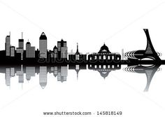 illustration montreal skyline - Google Search