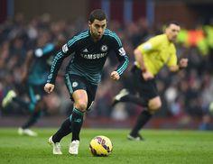 Eden Hazard Photos: Aston Villa v Chelsea - Premier League
