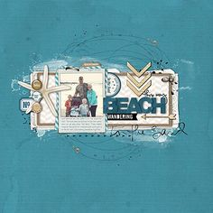 DelMar Shores Complete Scrapbooking Collection- Katie Pertiet Kits- KT449784- DesignerDigitals