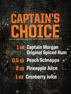 Captian's Choice! ;D More Captian!