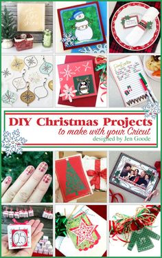 Make all kinds of fun Christmas Cricut Projects to decorate your home and gifts you give. You can make your own Christmascards, gift tags, Christmas tree decor and more. I love Christmas DIY projects andof course I love creating with my Cricut machine. Here is where I've gathered all my Christmas DIYprojects you can make …
