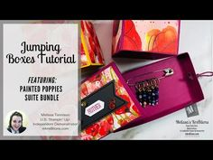 Jumping Boxes Tutorial with Cute Box, Matching Cards, Glue Dots, 3d Cards, Stitch Markers, Special Gifts, Stampin Up, About Me Blog, Make It Yourself