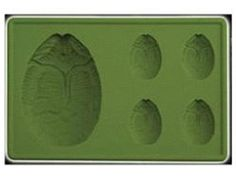 Alien egg ice cube tray