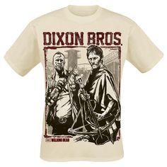 """The Walking Dead T-Shirt """"Dixon Bros."""" Männer natur - jetzt bestellen! EMP"""