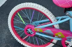 How to Decorate a Bike: Deck out your spokes