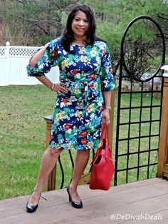 Fashion after Fifty #OOTD #florals @Avon #cutoutsleeves #workwear #40plusstyle #DelawareBlogger