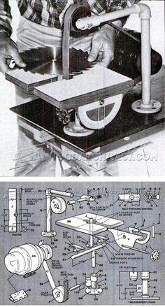 DIY Belt Grinder - Sharpening Tips, Jigs and Techniques | WoodArchivist.com