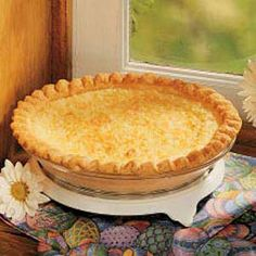 Creamy Coconut Pie - old fashioned comfort food!