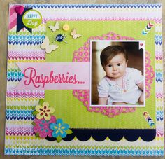 Scrapbook layout by Corri Garza using the Here & Now Collection from Echo Park and cut files from Lori Whitlock