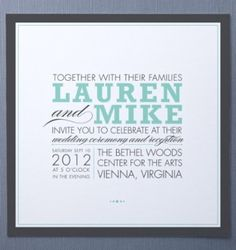 Wedding Invitations: 7 Sites Where You Can Buy Invites Online: Save the Date