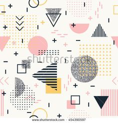Find Geometric Seamless Pattern Fashion Wallpaper Memphis stock images in HD and millions of other royalty-free stock photos, illustrations and vectors in the Shutterstock collection. Memphis Pattern, Fashion Background, Memphis Design, Graphic Artwork, Fashion Wallpaper, Watercolor Pattern, Graphic Design Tutorials, Textile Patterns, Illustrations