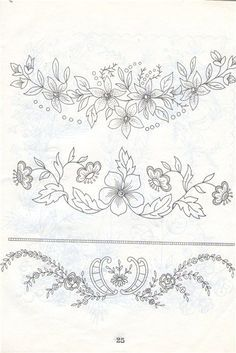 vintage transfer patterns for embroideryprintable vintage embroidery patterns Bordados Tambour, Tambour Embroidery, Ribbon Embroidery, Cross Stitch Embroidery, Embroidery Sampler, Hardanger Embroidery, Floral Embroidery Patterns, Machine Embroidery Patterns, Hand Embroidery Designs