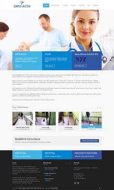 """Projekt strony internetowej www.ortoactiv.pl Firma Ortopedyczna """"Orto-Activ"""" jako pracownia ortopedyczna wytwarza sprzęt ortopedyczny na indywidualną miarę, a także jako sklep medyczny, ortopedyczny dostarcza gotowe wyroby ortopedyczne, medyczne w Zielonej Górze i Nowej Soli woj. Lubuskie."""