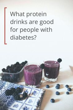 8 Protein Shakes and Smoothies for Diabetics If you have diabetes, choosing a pre- or post-workout drink isn't as easy as grabbing a Gatorade. Here are 8 protein shakes for people with diabetes. Diabetic Smoothies, Diabetic Desserts, Diabetic Recipes, Smoothies For Diabetics, Diabetic Protein Shakes, Pre Diabetic, Protein Smoothies, Fruit Smoothies, Post Workout Drink