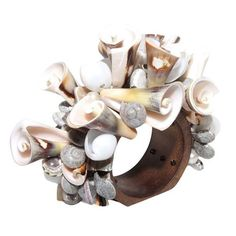 Curly Shell Napkin Ring, set of 4 by Kim Seybert