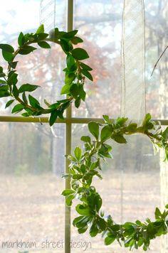 Laura Orr Interiors: Simple Fresh Wreaths