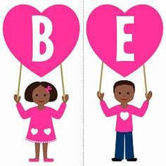 Free-printables-valentines-day-party-little-children-african-american